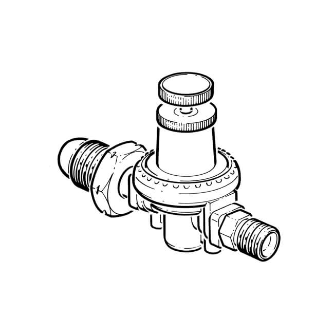 Propane High Pressure Regulator Single Stage