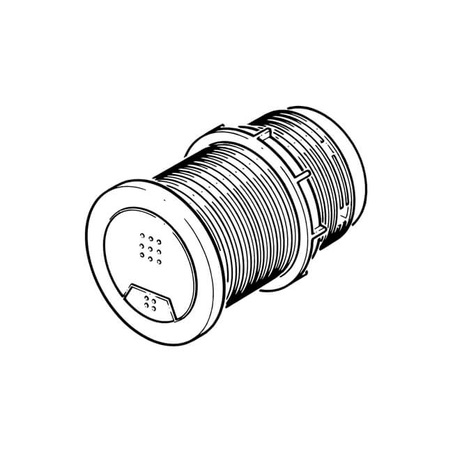 push button for pneumatic flush valve 61mm 20013