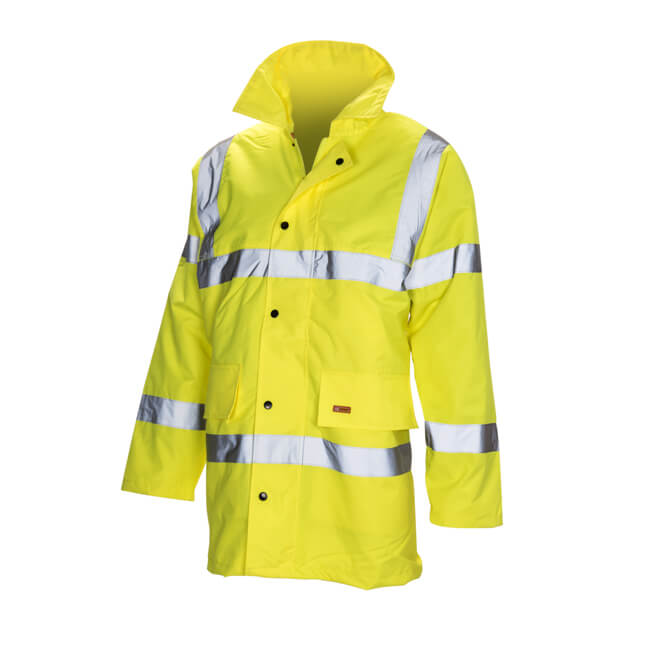 Hi Vis Reflective Coat - Large