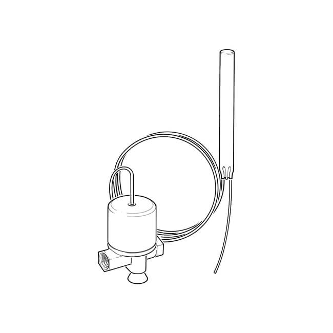 "CFV Capillary Fire Valve 90°C 6.0m - 1/4"""