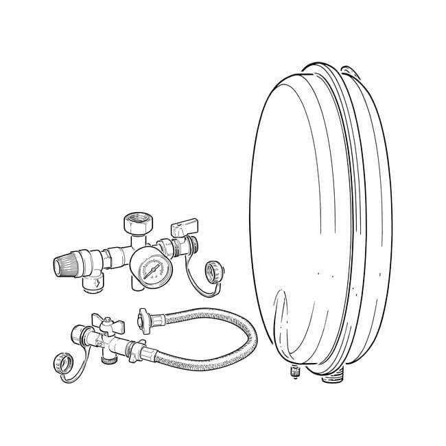 Robokit Compact Vessel & Filling Kit - 8 Litres