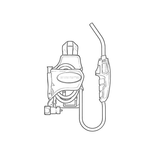Rothenberger Trigger Torch with Gas Bottle Holder