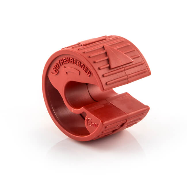 Rothenberger Plasticut Domestic Pipe Cutter 15mm Red
