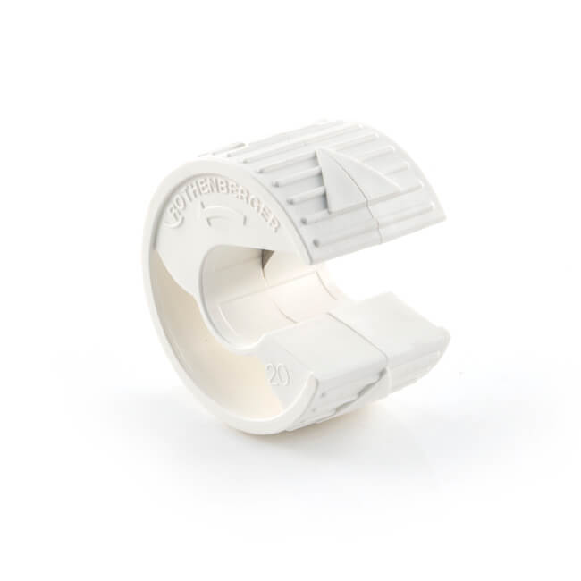 Rothenberger Plasticut Utility Pipe Cutter 20mm White