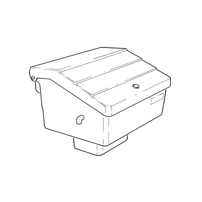 Semi-Concealed LPG Meter Box Assembly