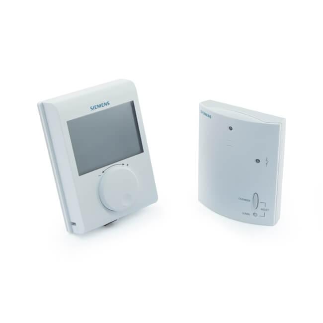 Siemens RDH100RF/SET Wireless Thermostat & Receiver