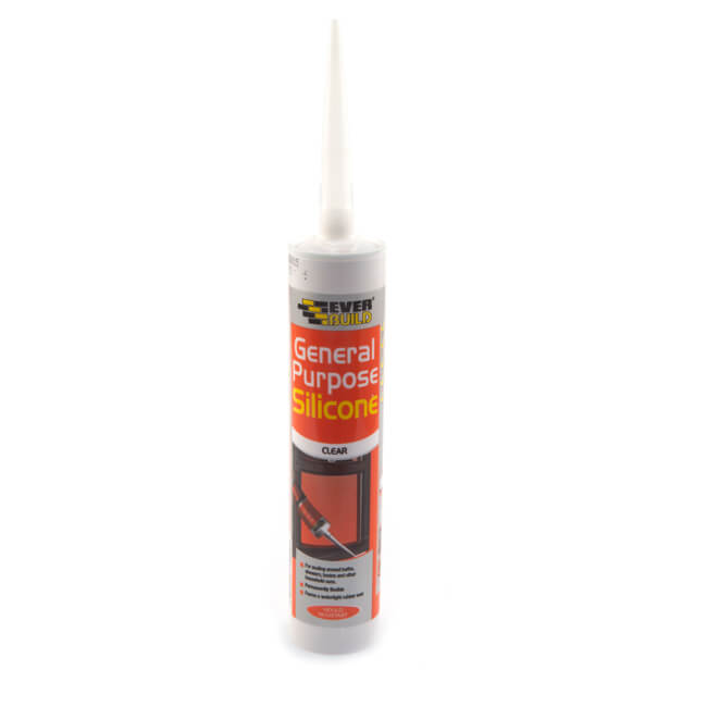 Everbuild Silicone Sealant - Clear 290ml