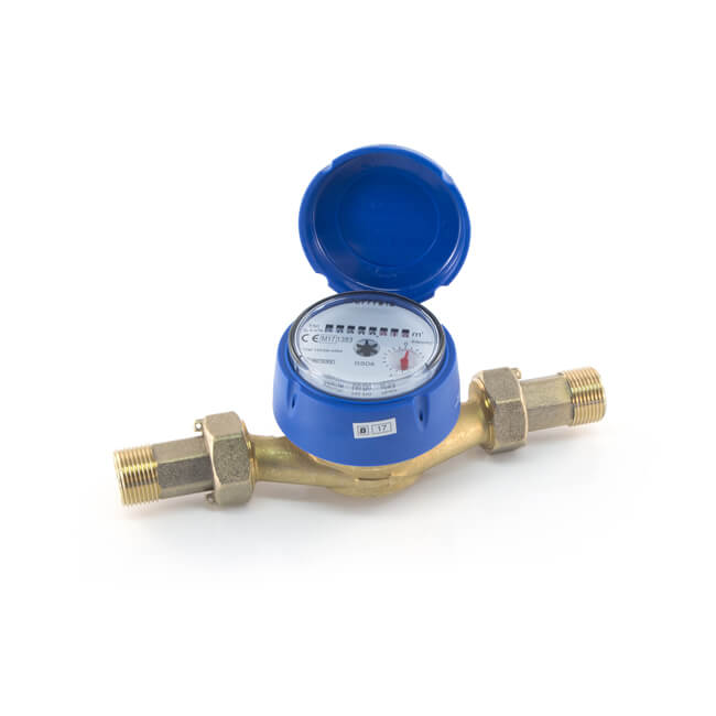 Single Jet Cold Water Meter - 1/2""