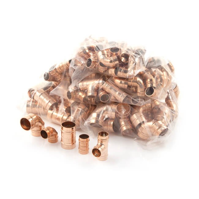 Solder Ring Fitting Pack - 200 Piece