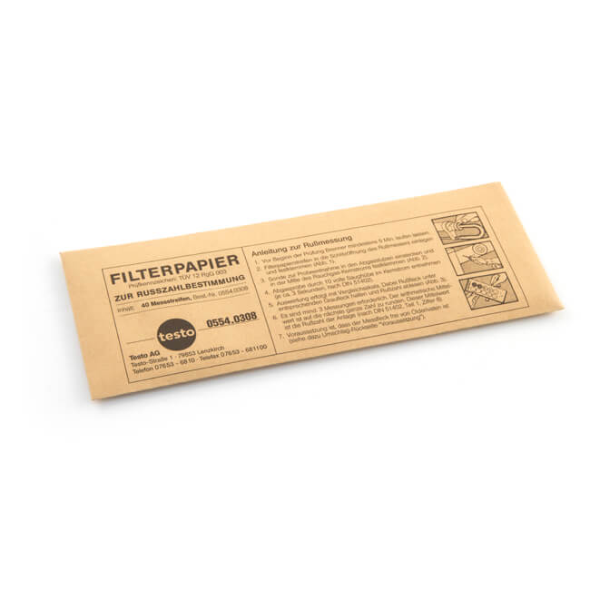 Spare Filter Paper for Testo Oil Smoke Test Pump - 40