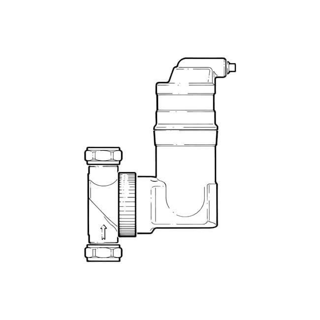 SpiroVent® Rv2 Air Separator - 28mm Compression