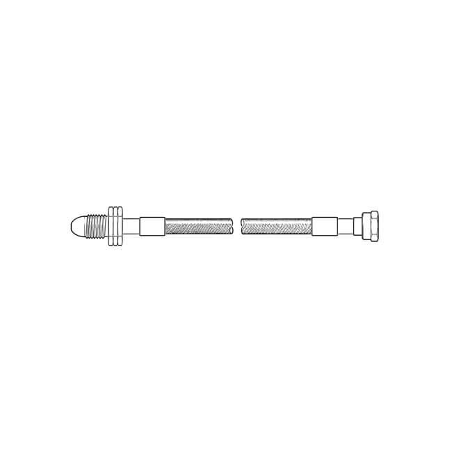 Stainless Steel Upgrade Hose Kit - 2 Cylinder Kit