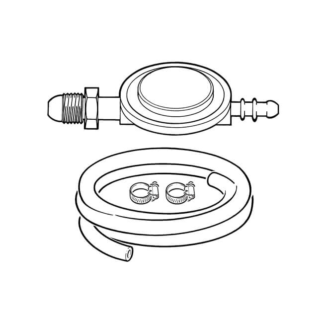 Standard Propane Regulator & Hose Kit
