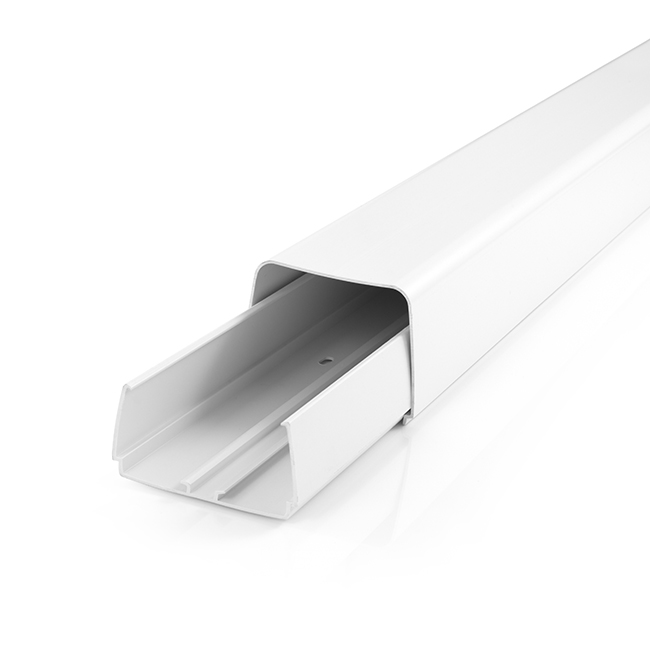 Straight Duct - 110 x 75mm x 2m Pure White