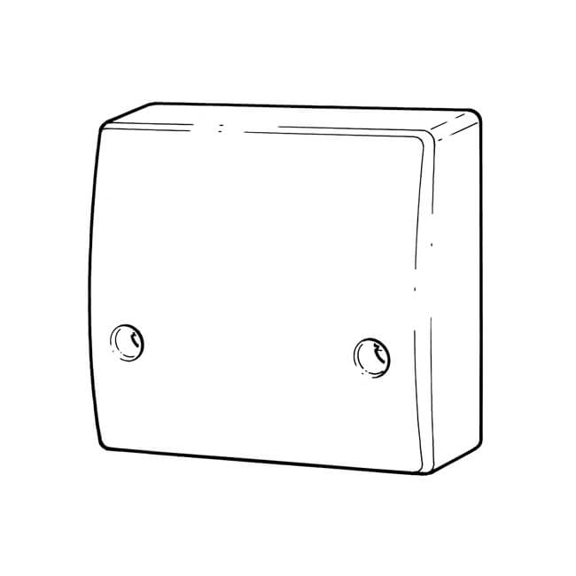 cooker connection unit outlet 45a
