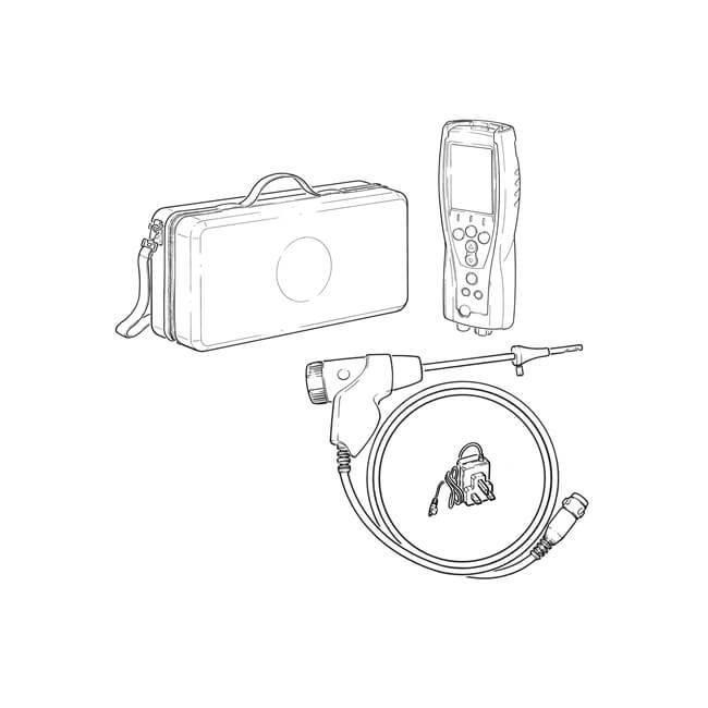 Testo 327-1 Flue Gas Analyser Standard Kit