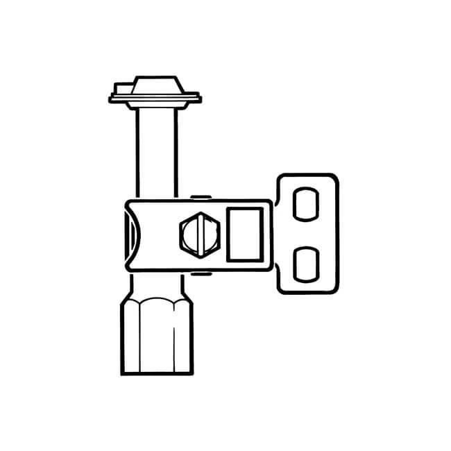 Pilot Burner Three-way Bottom Natural Gas 4mm or 6mm