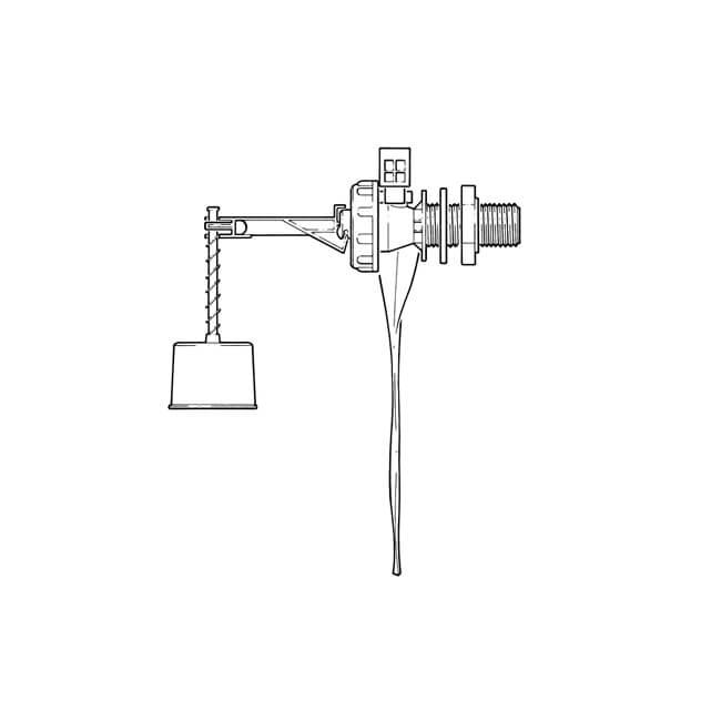 """Torbeck® Side Inlet Float Valve - 1/2"""""""