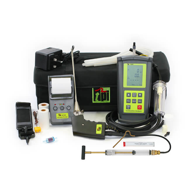 TPI 709R Oil Combustion Efficiency Analyser Kit 1
