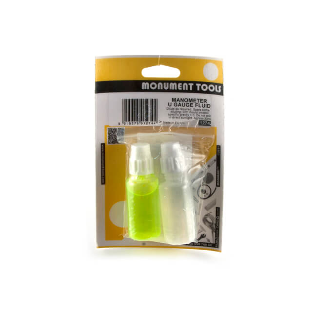Concentrated U Gauge Fluid Mould Resistant 30ml Yellow