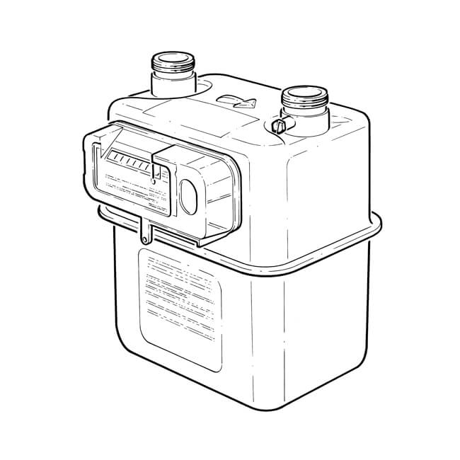 U6p Diaphragm Gas Meter