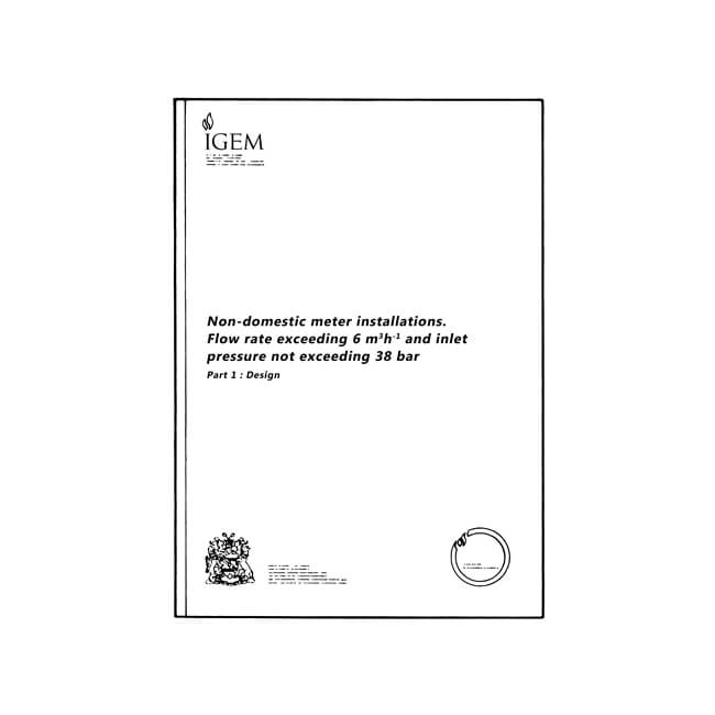 Utilization Procedure IGE/GM/8 Part 1