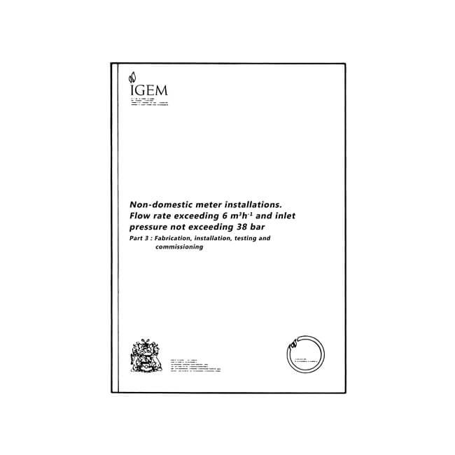 Utilization Procedure IGE/GM/8 Part 3