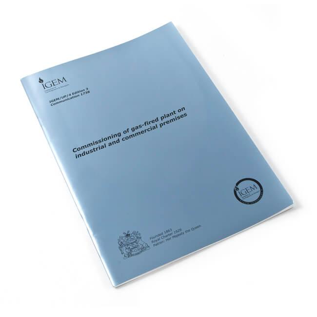 Utilization Procedure IGEM/UP/4 Edition 4