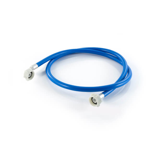 """Washing Machine Inlet Hose - 1.5m x 3/4"""" BSP Blue"""
