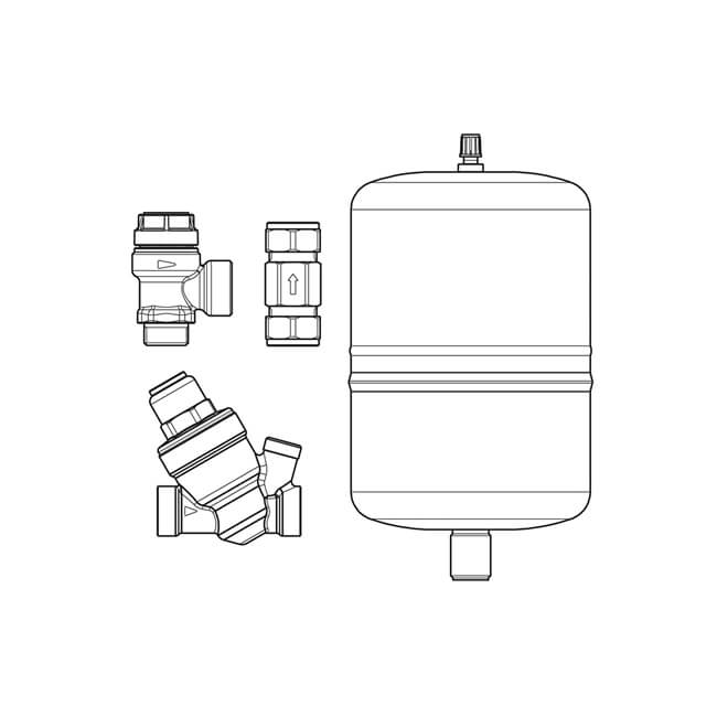 INAQ4 Water Heater Accessory Pack