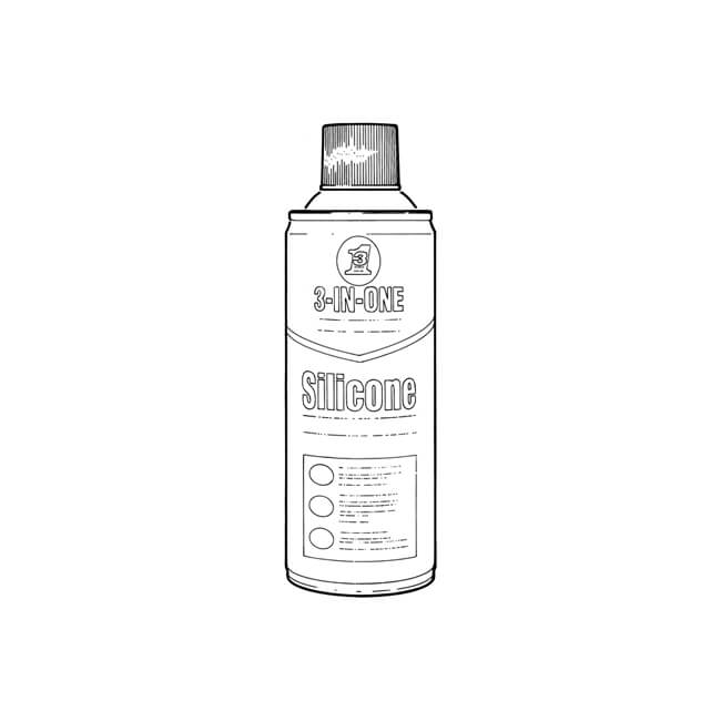 3-In-One Silicone Spray Lubricant - 400ml