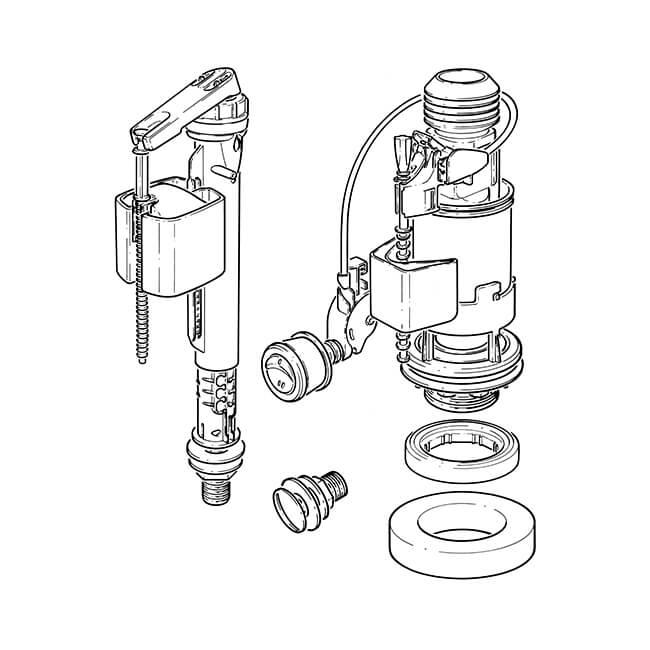 wirquin flush valve universal kit
